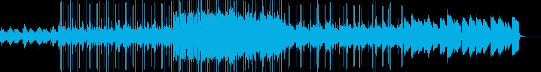 綺麗で優しいエレキギターPOPの再生済みの波形