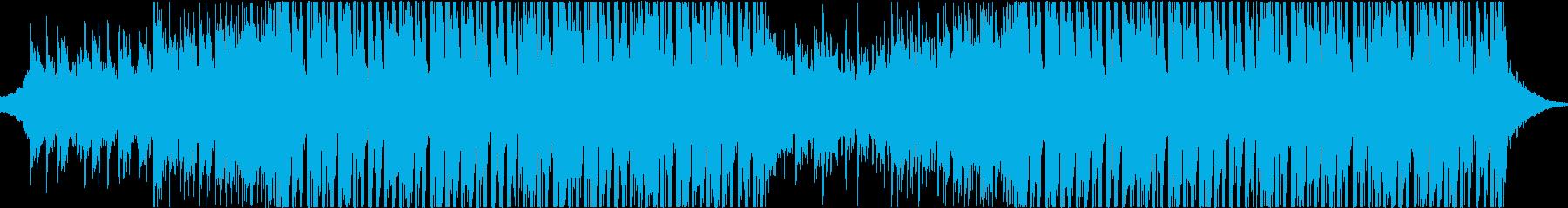 夏気分のやわらかなトロピカルハウスの再生済みの波形