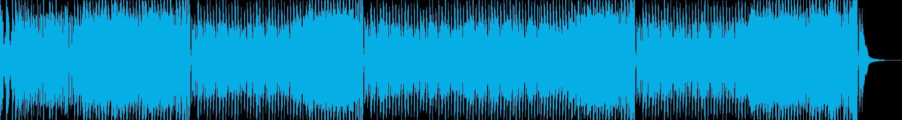 子供番組の体操BGMの再生済みの波形