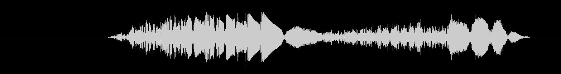 打撃 グリッチ01の未再生の波形