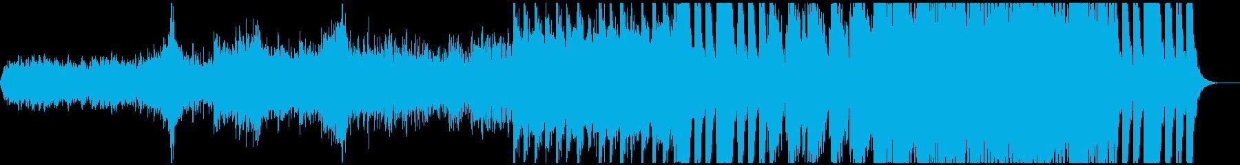 戦闘曲(ピンチの時)の再生済みの波形