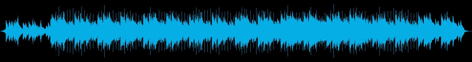ゆったりと落ち着いたピアノのコーポレートの再生済みの波形