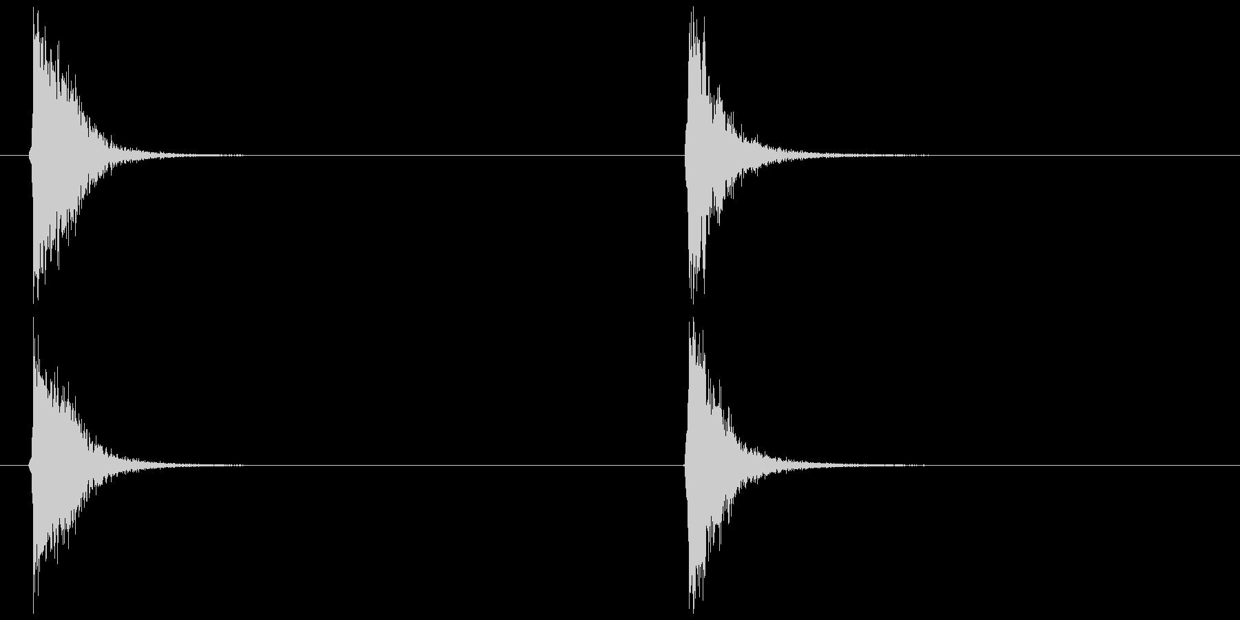 ビードロ アレンジ版 (ポッ ペン)の未再生の波形