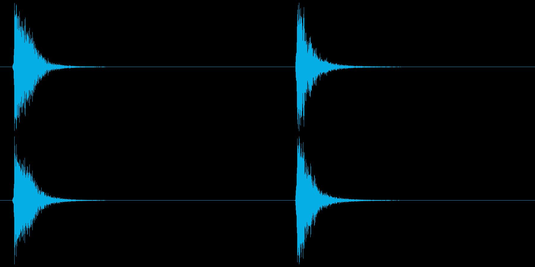 ビードロ アレンジ版 (ポッ ペン)の再生済みの波形