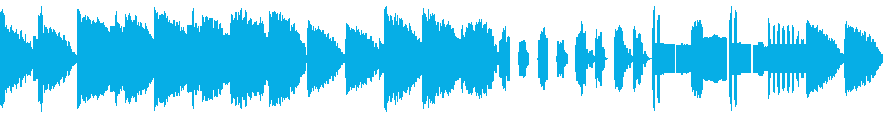 8bit・ループ・RPG・洞窟ダンジョンの再生済みの波形