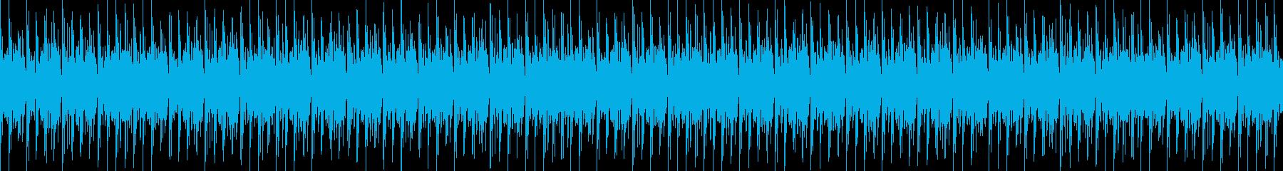 フワフワ ピコピコ お菓子のようなBGMの再生済みの波形