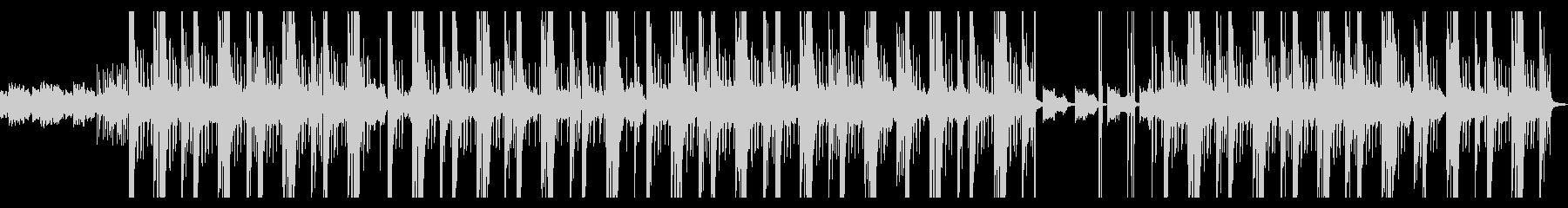ダークな人生ヒップホップ、トラップの未再生の波形
