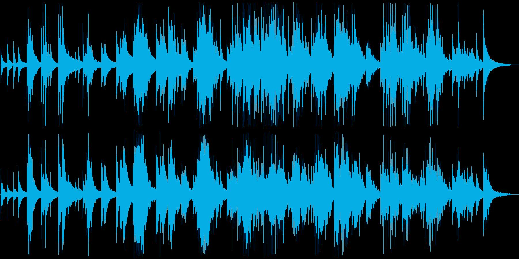 ピアノの調べが美しいクラシックの再生済みの波形