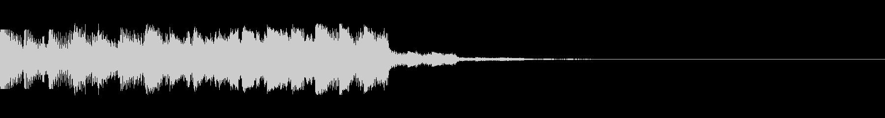 パチンコ的アイテム獲得音10(SU03)の未再生の波形