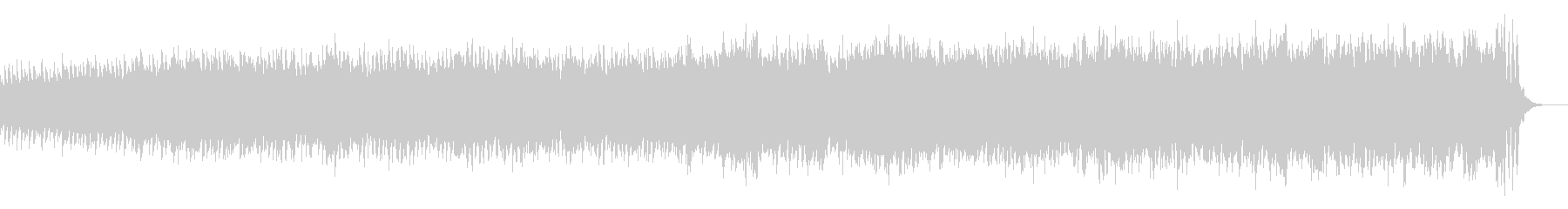 KANTピアノオーケストラ緊張感BGMの未再生の波形