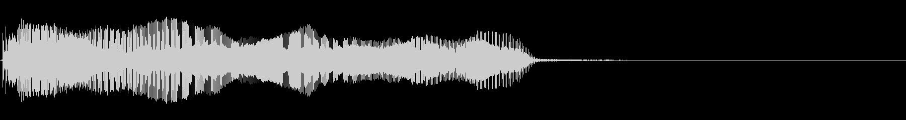 バイオリン:スライドダウン、漫画コ...の未再生の波形