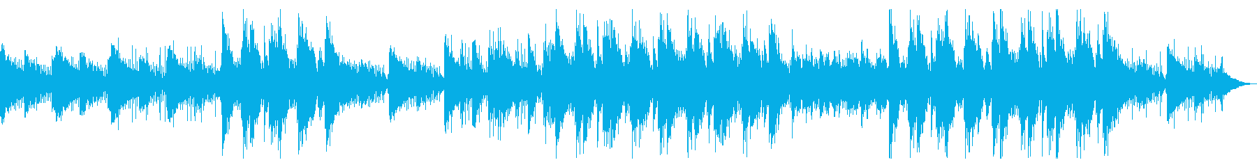爽やかチルトラップの再生済みの波形