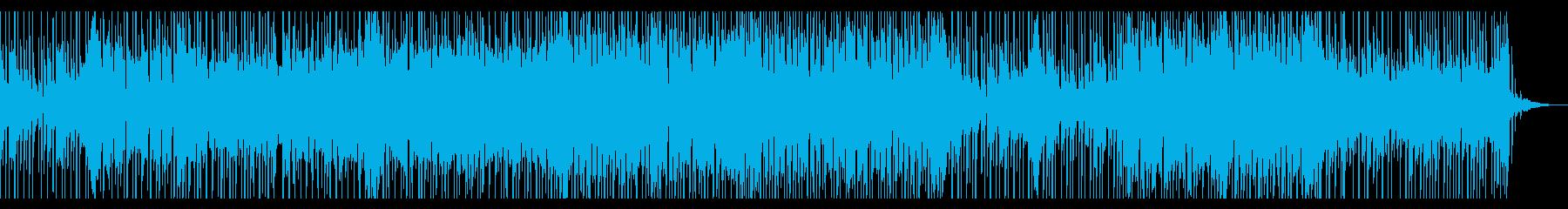 切なく怪しげな感じが印象的なBGMの再生済みの波形