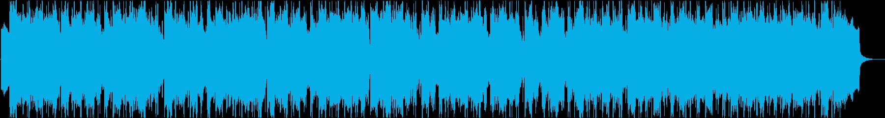 Loose and refreshing tropical ukulele Hawaiian b's reproduced waveform