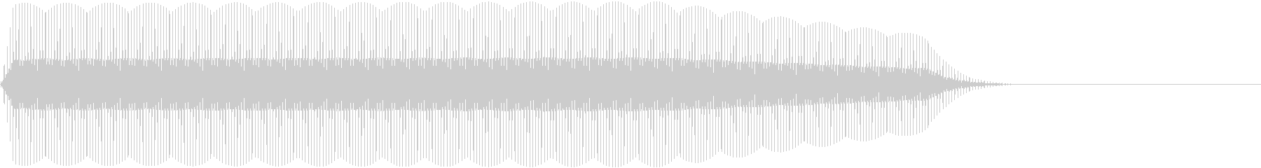 DENSHION ハイトーンな電子音 1の未再生の波形
