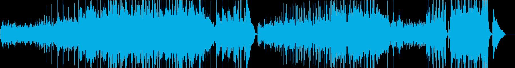 バッハ・無伴奏チェロ組曲ポップスアレンジの再生済みの波形