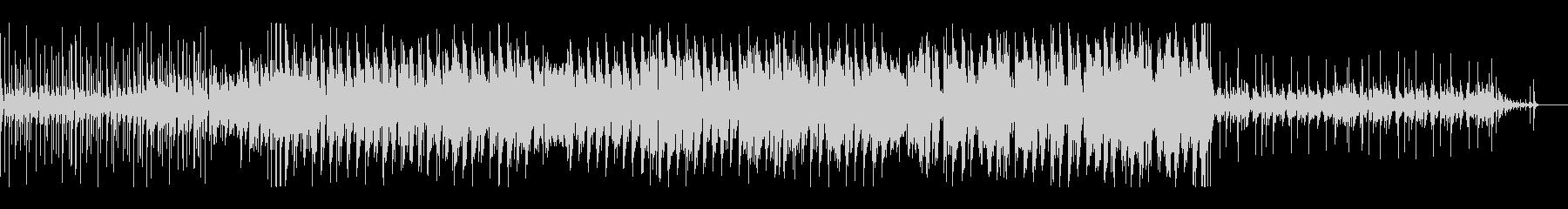 ラテン風 ショート キック強調の未再生の波形