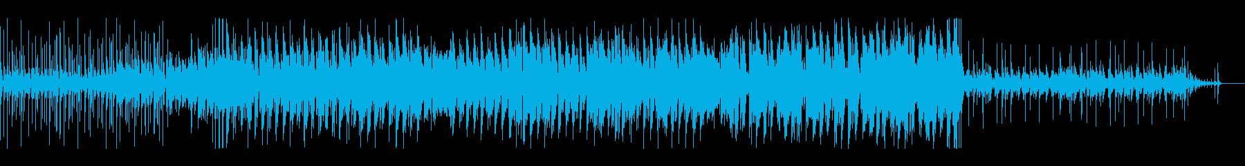 ラテン風 ショート キック強調の再生済みの波形