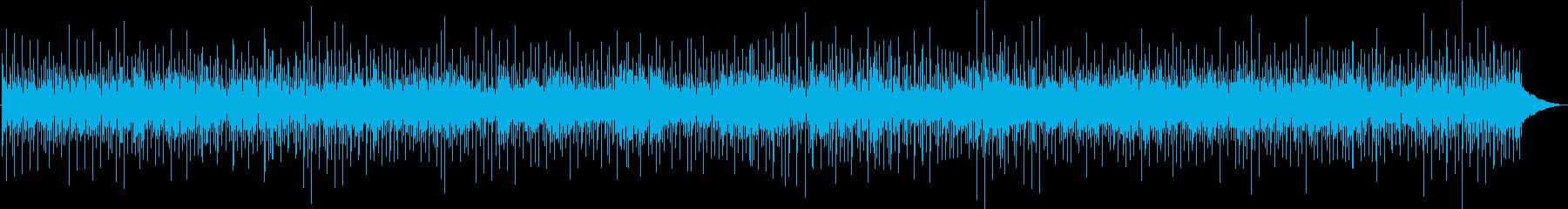 陽気なポップの再生済みの波形