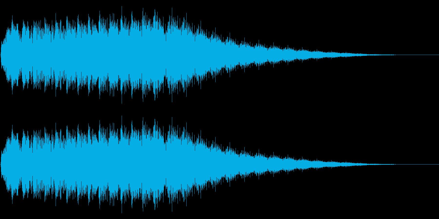 「アイテムゲット」「クイズに正解」など…の再生済みの波形