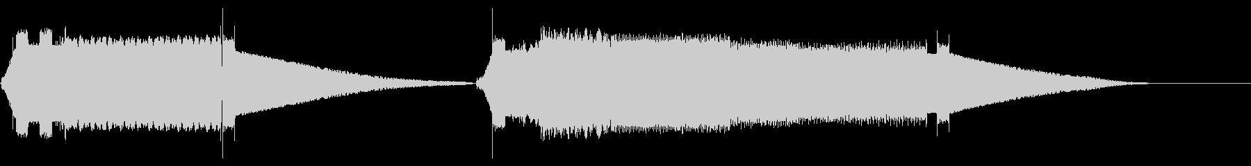 ハイテクサーボ2 X2の未再生の波形