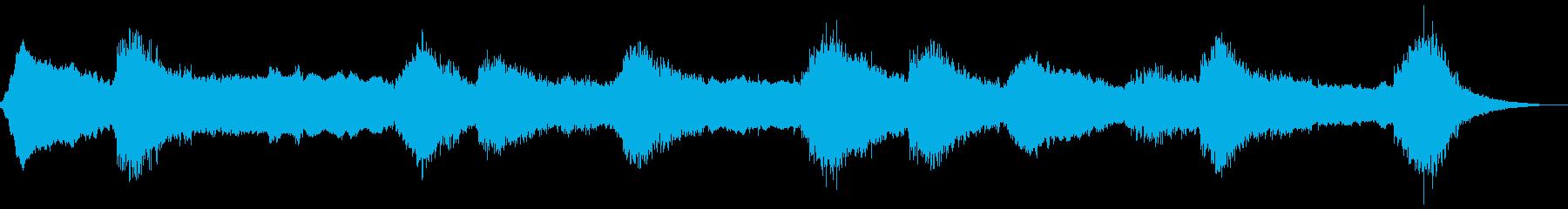 神秘的な幻影の再生済みの波形