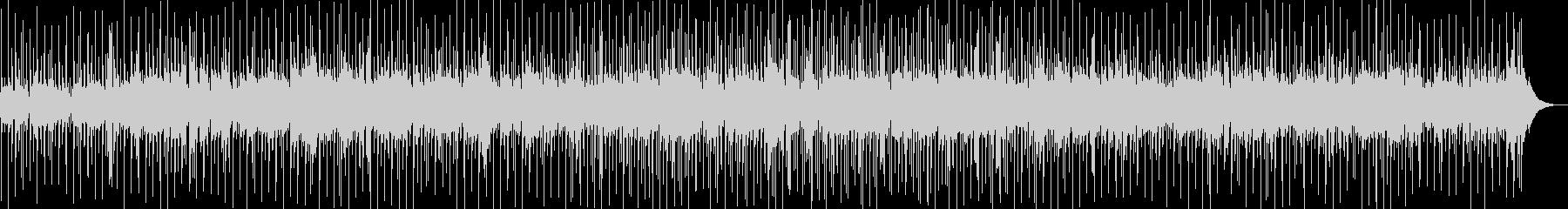 爽やかなギターボサノバの未再生の波形