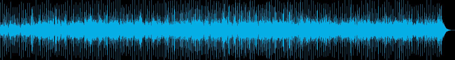 爽やかなギターボサノバの再生済みの波形