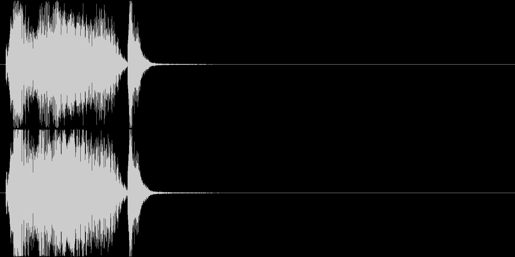 「グレイト」アプリ・ゲーム用の未再生の波形