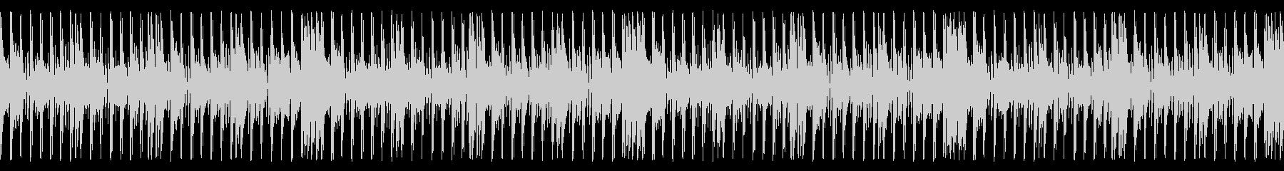 ポップでアクティブなジングル_ループの未再生の波形