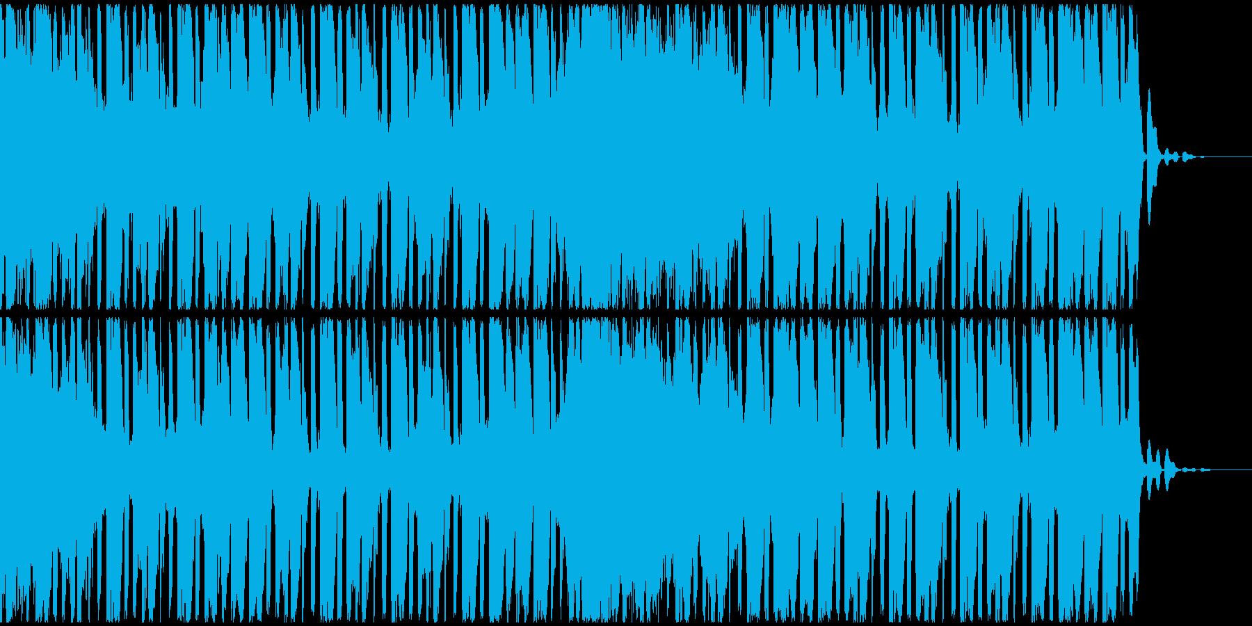 【EDM】トランス、ジングル5の再生済みの波形