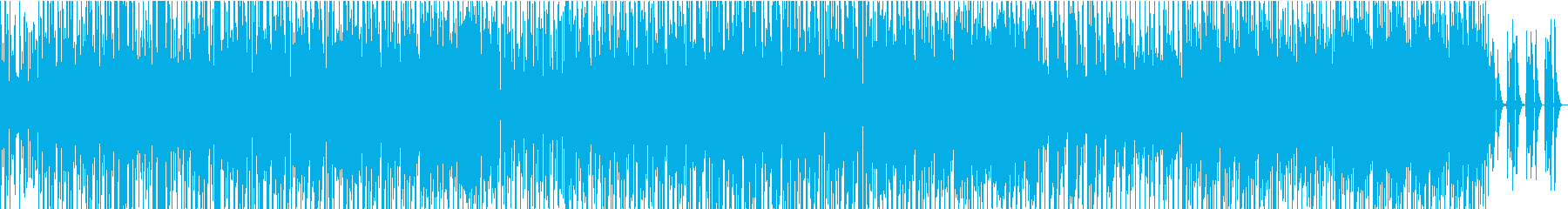 テナーサックス、アルトサックス、ト...の再生済みの波形