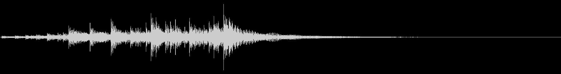 ティンパニ、(手)、シン(パイプ)...の未再生の波形