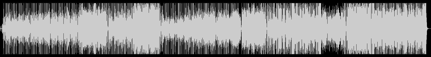 ジャジーに「足音」を表現したGtインストの未再生の波形