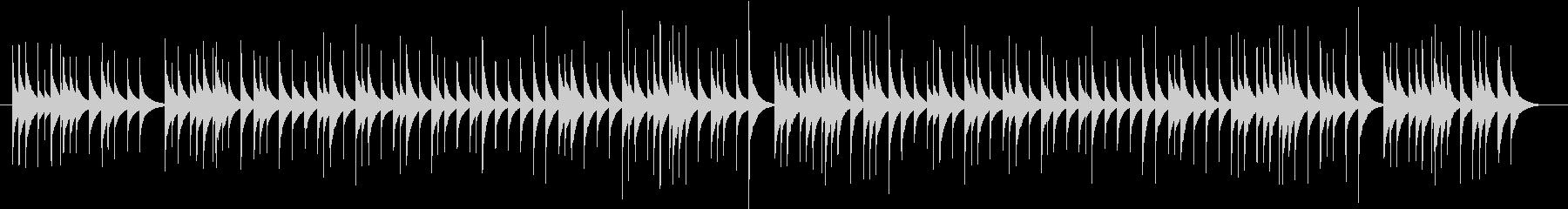 組曲「惑星」より「ジュピター」オルゴールの未再生の波形