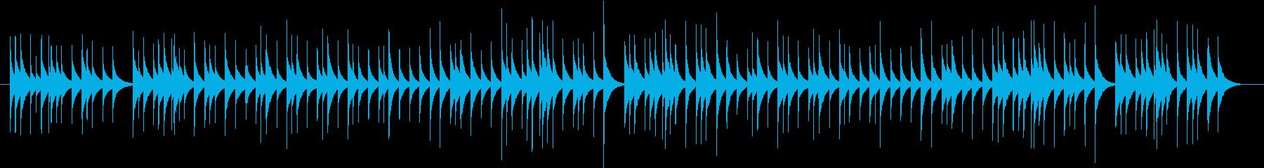 組曲「惑星」より「ジュピター」オルゴールの再生済みの波形