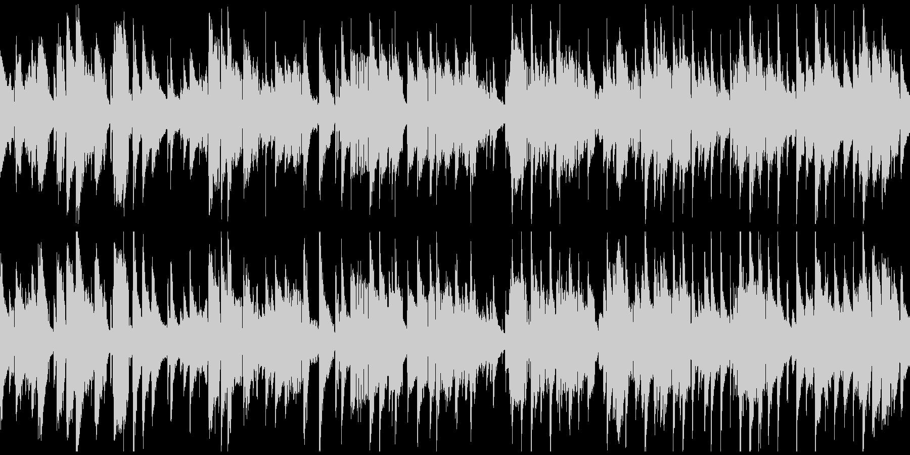切ない大人のジャズ・バラード ※ループ版の未再生の波形