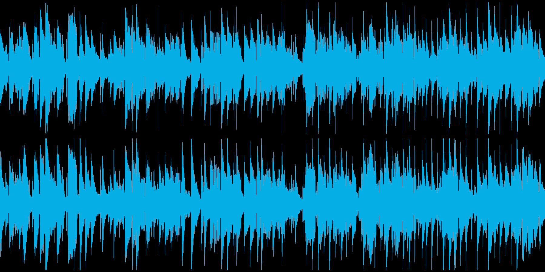 切ない大人のジャズ・バラード ※ループ版の再生済みの波形