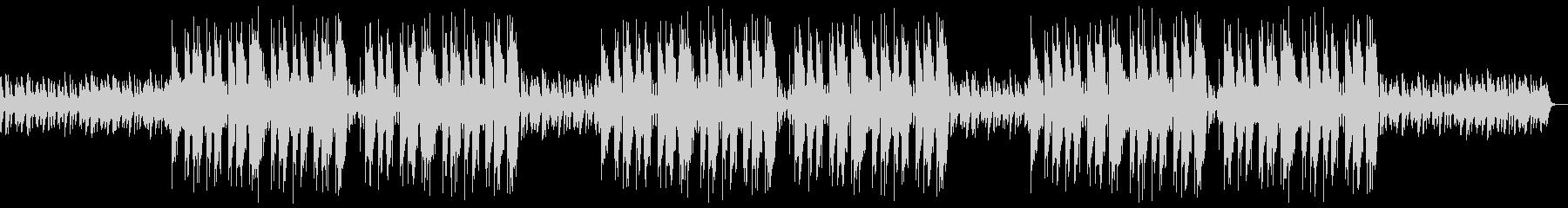 不思議で優雅なヒップホップBGMの未再生の波形