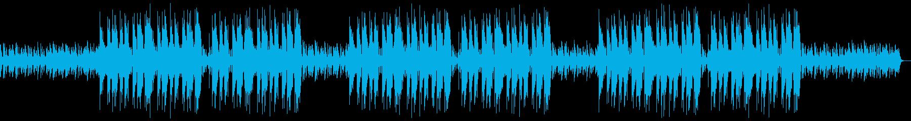 不思議で優雅なヒップホップBGMの再生済みの波形