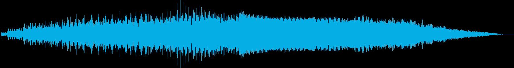 詳細なフィードバックエンジンサンプ...の再生済みの波形