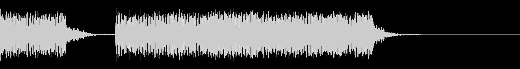 スパーク音-05の未再生の波形