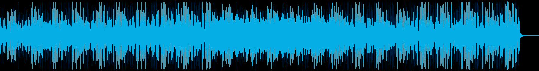 コミカルで可愛いテクノポップの再生済みの波形