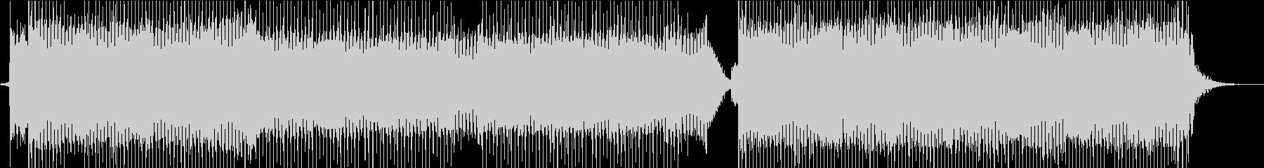 かわいいエレクトロポップダンスミュージッの未再生の波形