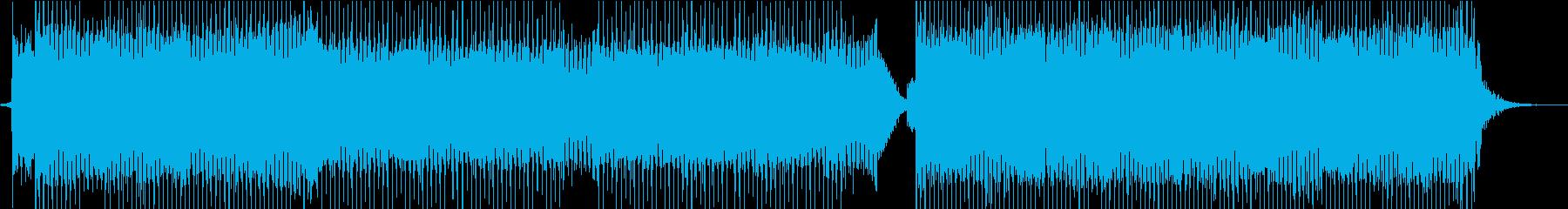 かわいいエレクトロポップダンスミュージッの再生済みの波形