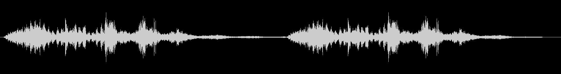 環境音 SFフラッター06の未再生の波形
