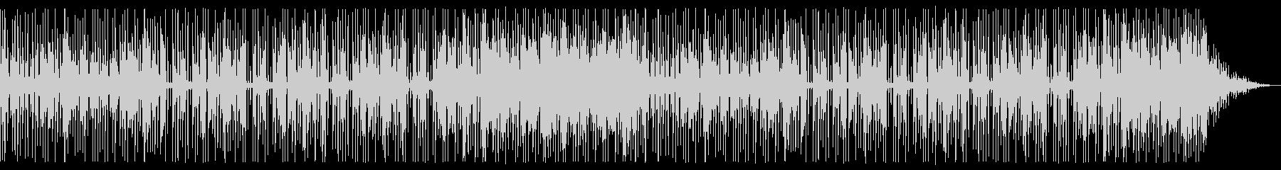 ミニマムなローファイビート楽曲の未再生の波形