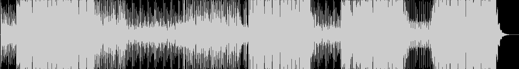 ゆったりなトロピカルハウスの未再生の波形
