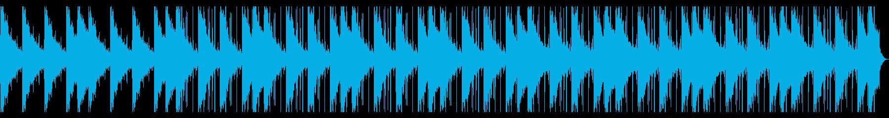 捜索するようなR&B_No616_2の再生済みの波形