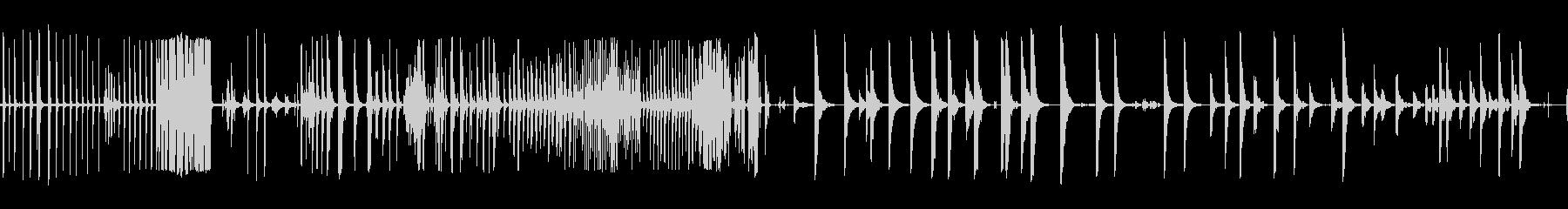ベルテンプルリング複数Cの未再生の波形